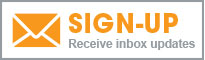 Illustrated newsletter signup icon