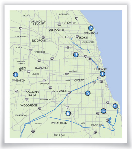 Community Centers Map