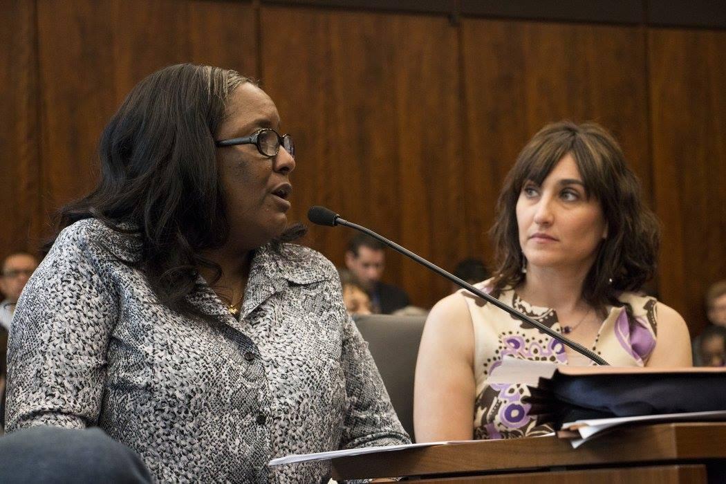 Photo of Jacqueline speaking