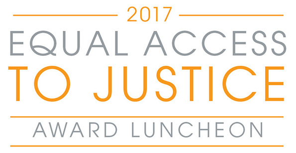Illustrated graphic for the Metro Legal Aid Luncheon