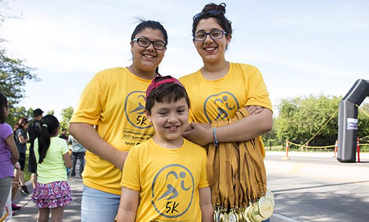 Photo of 3 Metro Summer Dash participants